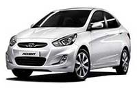 Long-term rental Hyundai Accent 4 - 5 seats Da Nang
